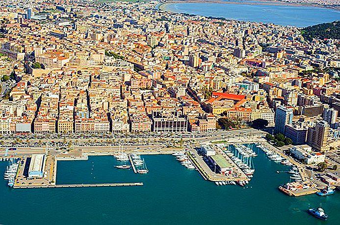 Cagliari en Cerdeña